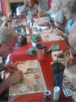 Old people are painting